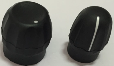 3680530Z02  Volume Knob + 3680529Z01 Volume Knob  for Motorola GP328 a Pair