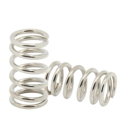 10pcs/lot Stainless Steel Springs 1.2*9.2*15mm 3D Printers Parts 6.8mm Spring For UM2 Heated Bed Adjusting Part DIY Accessories