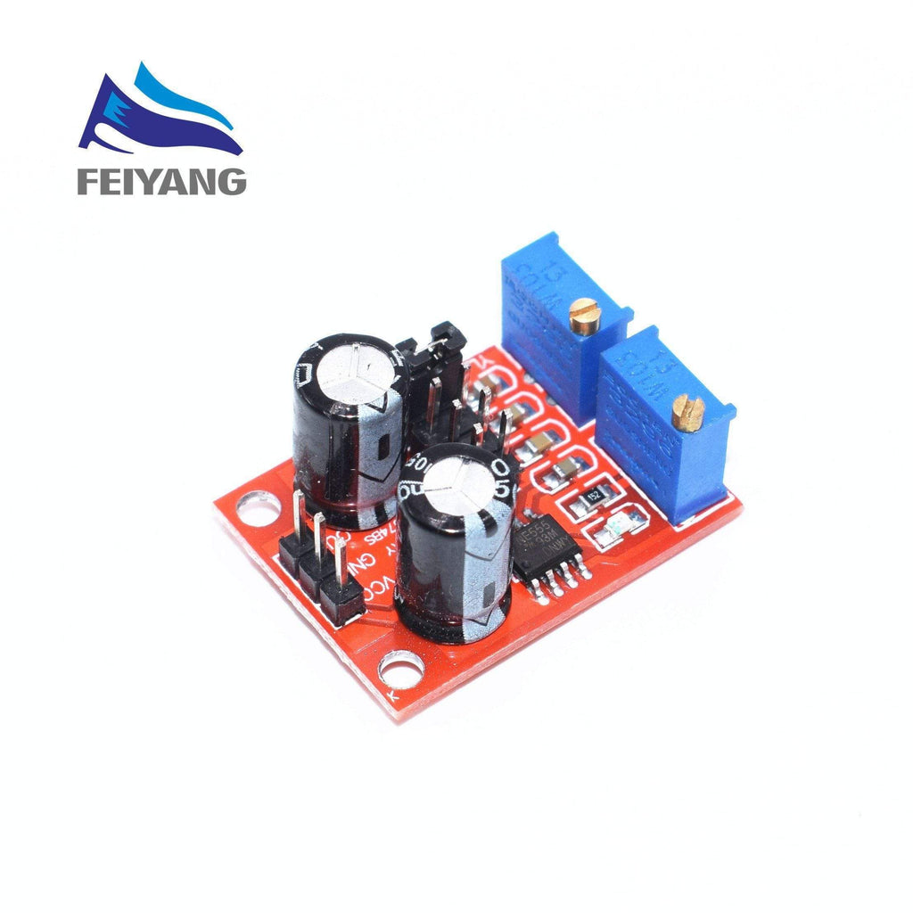 B5 NE555 Pulse Frequency Duty Cycle Adjustable Module Square Wave Signal Generator