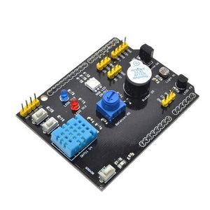 WAVGAT Multifunction Expansion Board DHT11 LM35 Temperature Humidity For Arduino UNO RGB LED IR Receiver Buzzer sensor