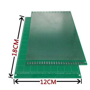 98-22 free shipping 1pcs 12x18cm  single Side Prototype PCB Universal Printed Circuit Board
