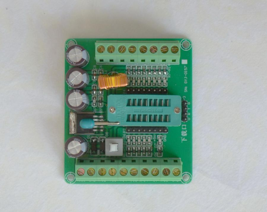 STC15W204S Development Board 16 pin chip Universal board / at the same time support STC15W408AS