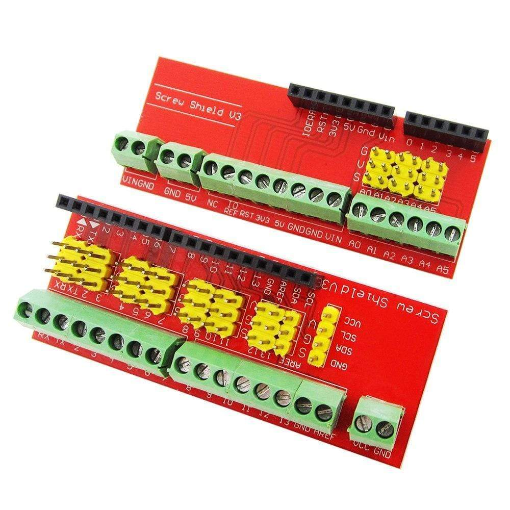 Screw Shield V3 terminal V1 expansion board is compatible UNO R3 Interactive Media Moudle
