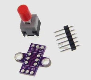 Free Shipping!!! 3pcs MCU-010 with lock button / self-locking switch / double row switch (parts)