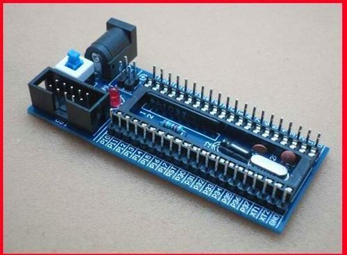 Free Shipping!!  51 SCM minimum system board / for STC89C52 and AT89S52 /Electronic Component