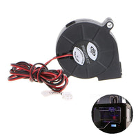 1Pc DC 12V 50mm Blow Radial Cooling Fan Hotend Extruder For RepRap 3D Printer Accessories Cooler Fans High Quality C26