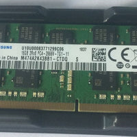 M474A2K43BB1-CTDQ SAMSUNG DDR4-2666 16GB ECC SO-DIMM For Laptop Synology DS1618+ DS1819+ DS2419+