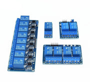 1PCS 5V 1 2 4 8 channel relay module with optocoupler. Relay Output 1 2 4 8 way relay module   In stock