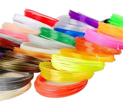 5 Pieces (Min. Order) 10M 3d PLA Filament 1.75mm Material 3D Printer Pen Filament high temperature glowing filment flament