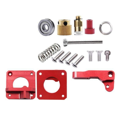 Mk8 Red Remote Extruder for 3D Printer Parts Upgrade MK8 full metal extruder 3D Accessories Wholesale