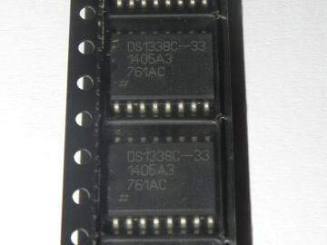 DS1338C-33#TR I2C RTC with 56-Byte NV RAM