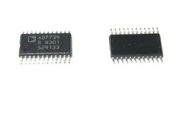AD7739BRUZ Octal Channel Single ADC Delta-Sigma 3.05Msps 24-bit Serial 24-Pin TSSOP Tube