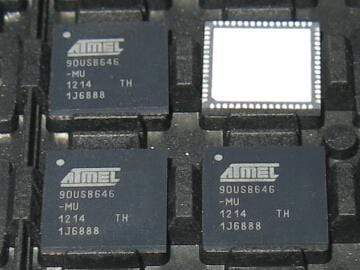 AT90USB646-MU IC MCU 8BIT 64KB FLASH 64QFN