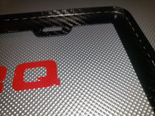 Load image into Gallery viewer, Carbon Fiber License Plate Frames