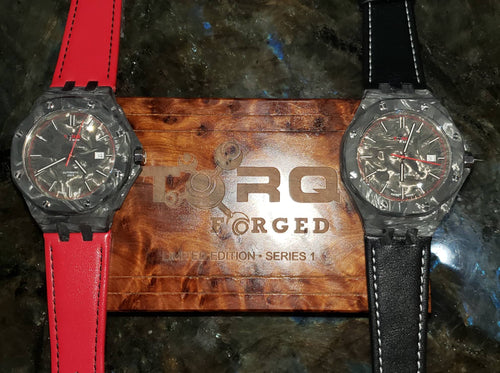 T0RQ Forged Carbon Series 1 Watch