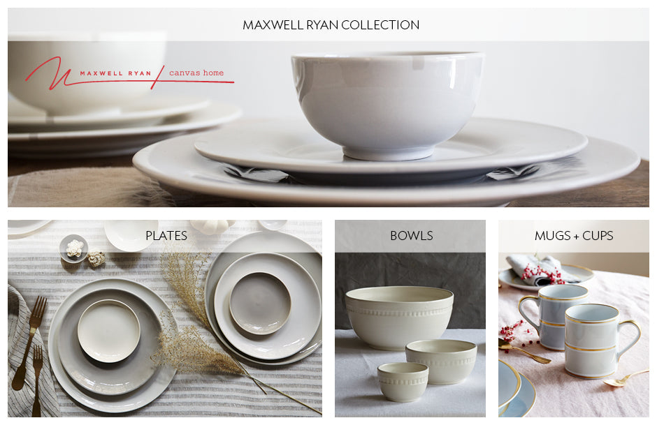 Dinnerware  sc 1 st  Canvas Home & Modern Designer + Custom Handmade Dinnerware Pieces | Canvas Home