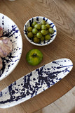 Gerona Large Platter in Splatter