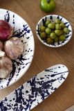 Gerona Olive Tray in Blue - Set of 2