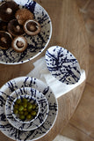 Gerona Tapas Dish in Splatter - Set of 2