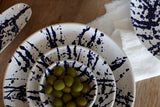 Gerona Large Fruit Bowl in Splatter