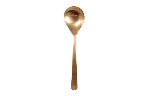 Oslo Serving Spoon in Gold - Canvas Home