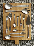 Madrid Cutlery Set in Matte Copper - Canvas Home