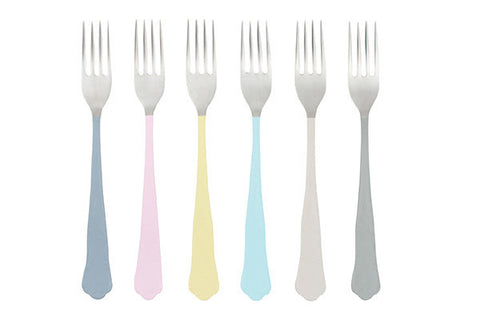 Jaipur Dessert Forks - Canvas Home