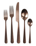 Como Cutlery Set in Matte Copper