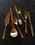 Oslo Serving Spoon in Copper - Canvas Home