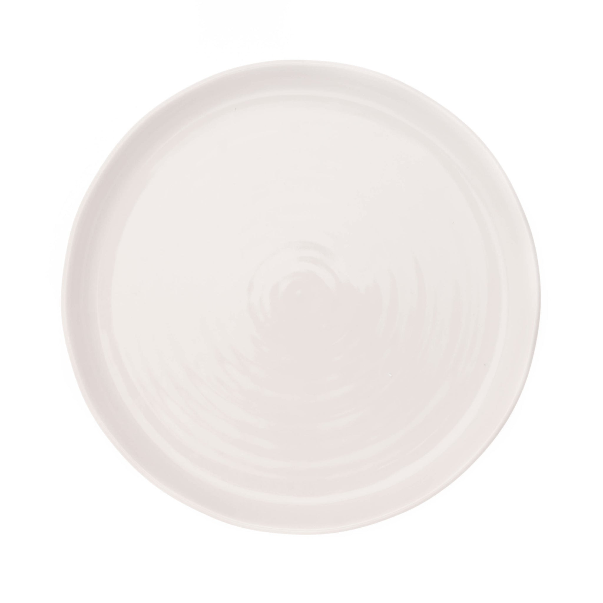 Pinch Dinner Plate in White - Set of 4