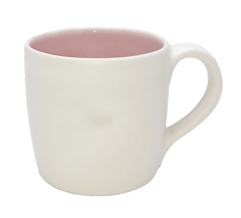 Pinch Mug in Pink - Set of 4