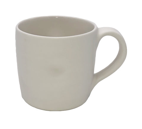 Pinch Mug in White - Set of 4
