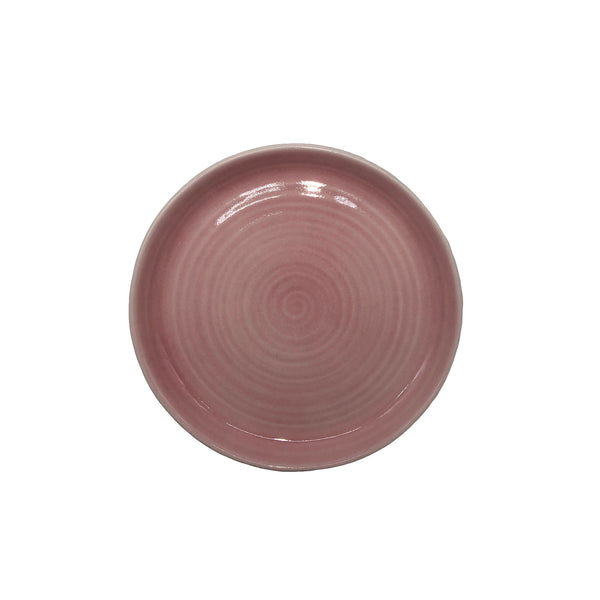 Pinch Salad Plate in Pink - Set of 4