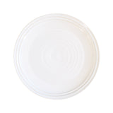Lines Dinner Plate - White/White - Set of 4