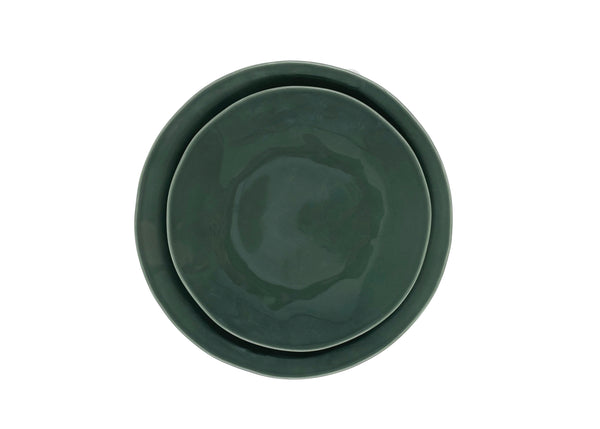 Evora Dinner Plate in Ash - Set of 4