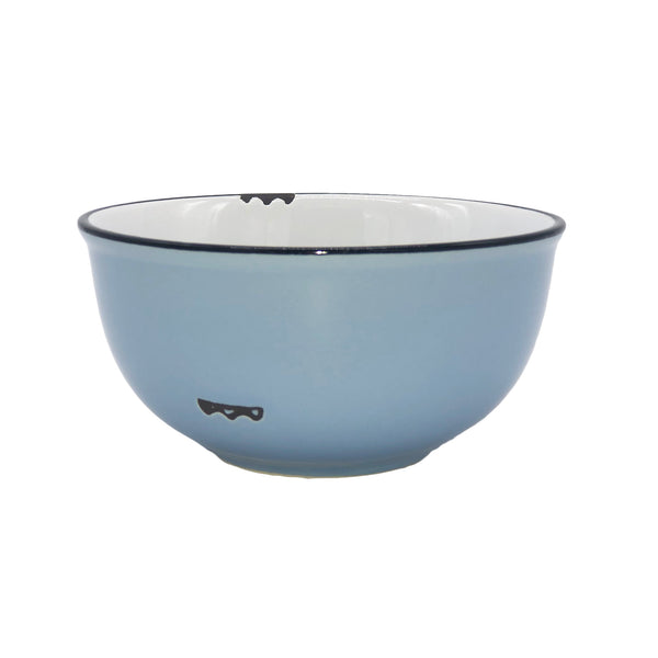 Tinware Small Bowl in Cashmere Blue - Set of 4