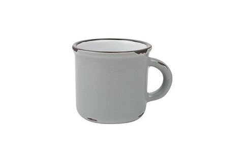 Tinware Espresso Mug in Light Grey - Canvas Home