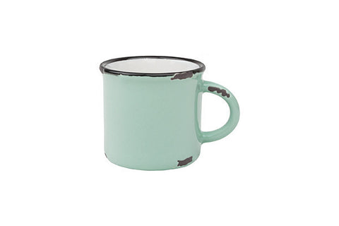 Tinware Espresso Mug in Pea Green - Canvas Home