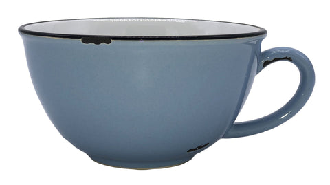 Tinware Latte Cup in Cashmere Blue