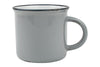 Tinware Mug in Light Grey - Canvas Home