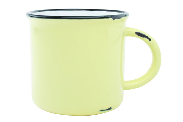 Tinware Mug in Yellow - Canvas Home