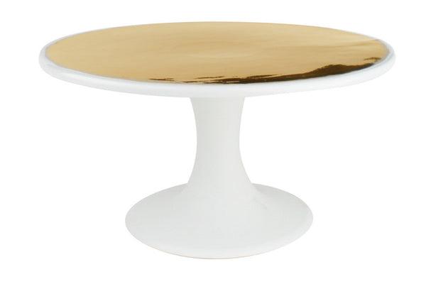 Dauville Cake Stand in Gold