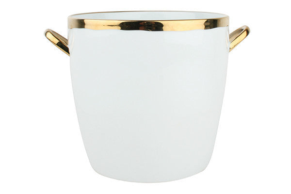 Dauville Ice Bucket in Gold - Canvas Home