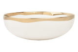 Dauville Serving Bowl in Gold - Canvas Home