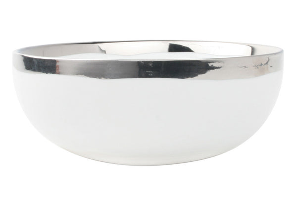 Dauville Cereal Bowl in Platinum - Canvas Home