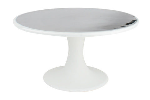 Dauville Cake Stand in Platinum - Canvas Home
