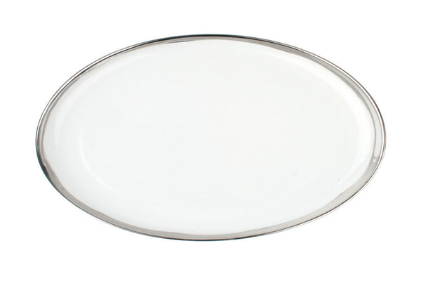 Dauville Platters with Platinum Rim - Small - Canvas Home