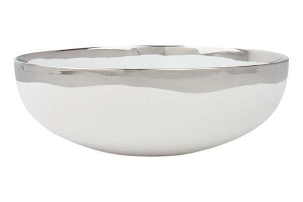 Dauville Serving Bowl in Platinum - Canvas Home