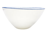 Pre-Order: Abbesses Large Bowl Blue Rim - Set of 2