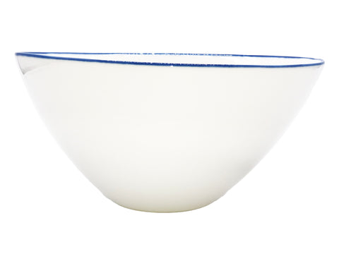Abbesses Large Bowl Blue Rim - Canvas Home